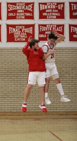 Boys basketball vs. Highland pictures