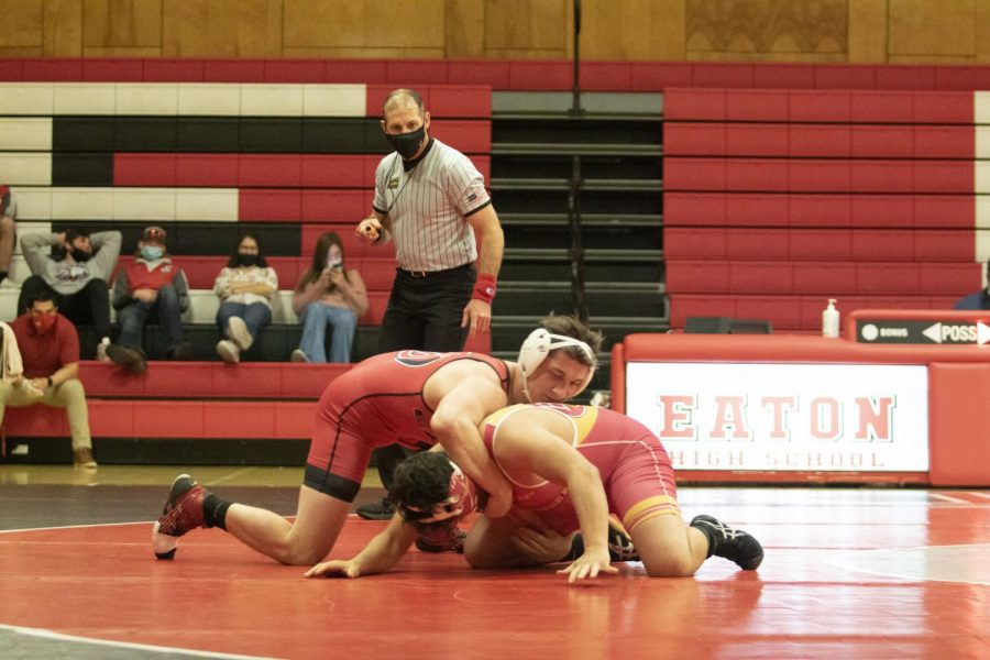 Wrestling has strong start to 2021 season