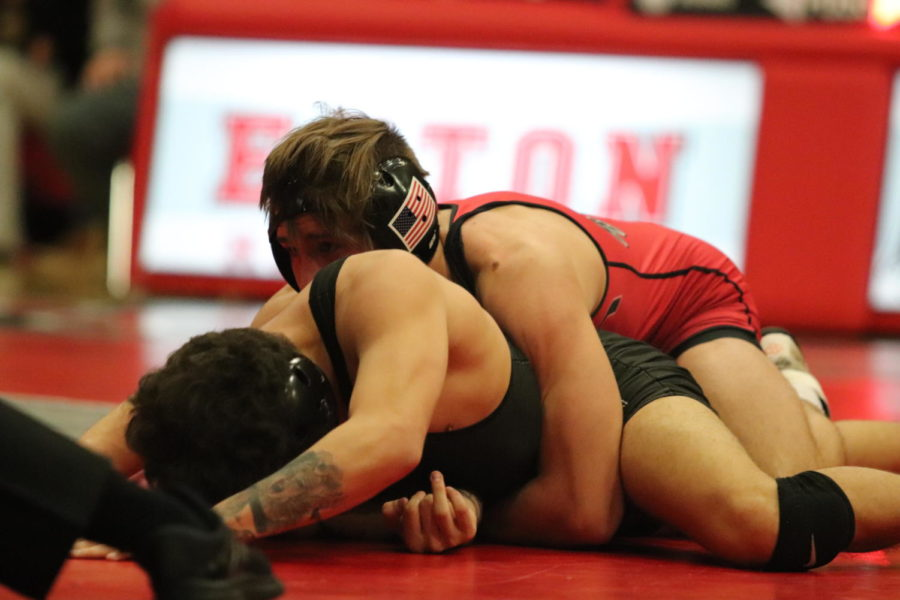 Wrestling is victorious at Patriot Cross Over Dual