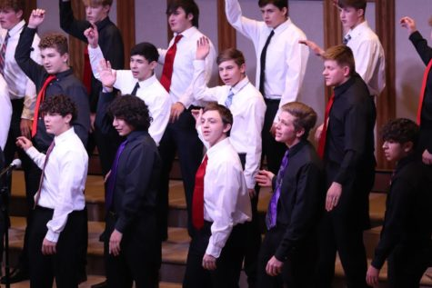 Last Tuesday's choir concert outcome