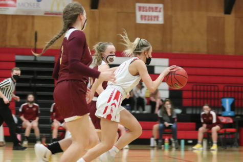 Girls Basketball vs. Brush photos