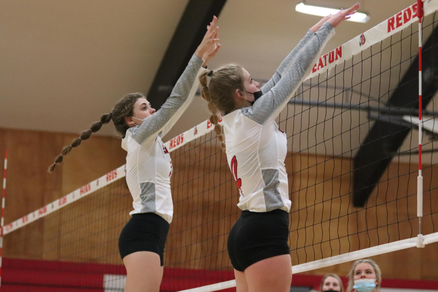 Volleyball vs. Frontier photos