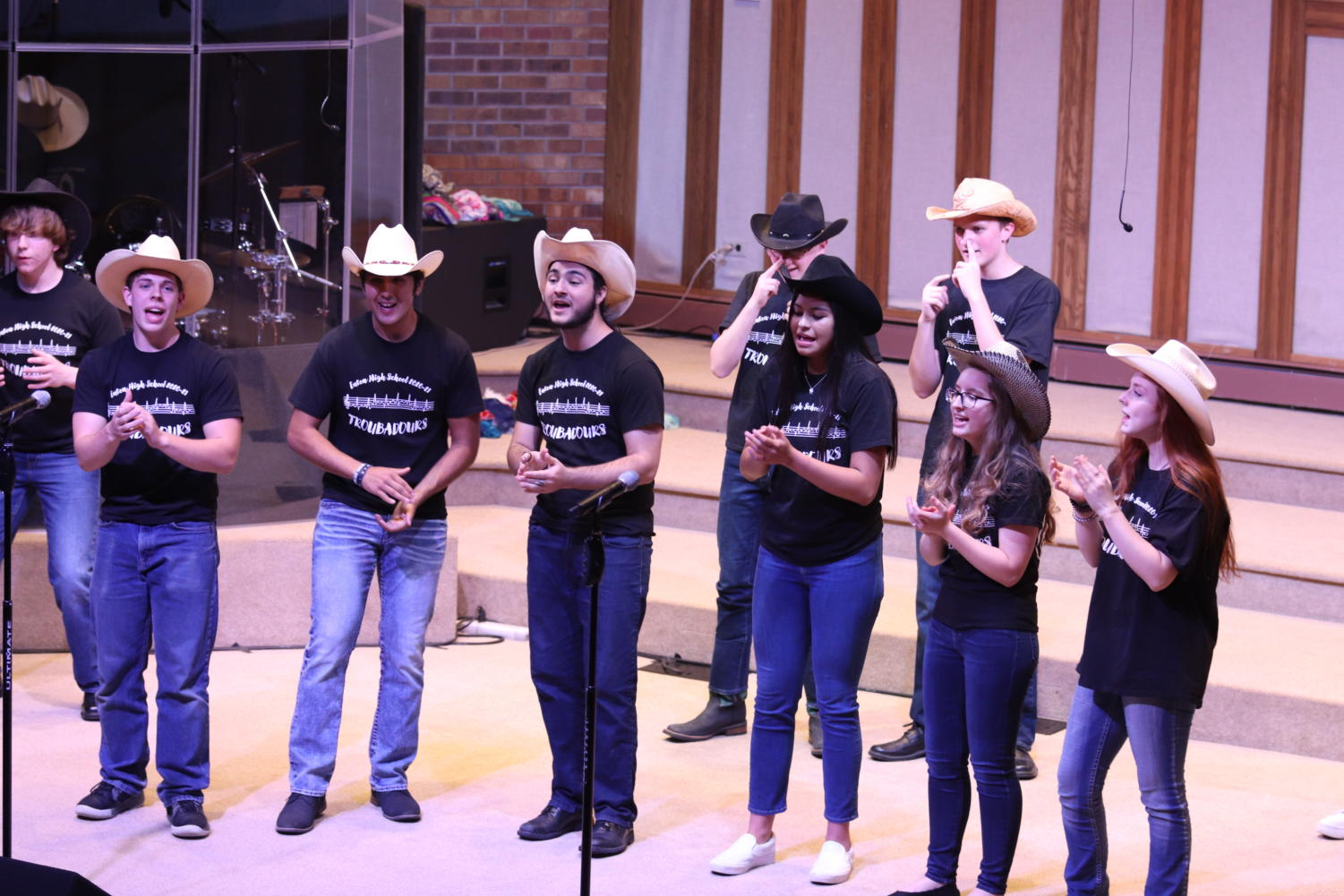 Choir concert had the audience shaking in their boots