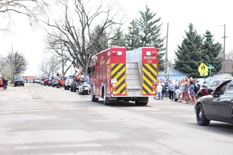 2021 Senior Parade photos