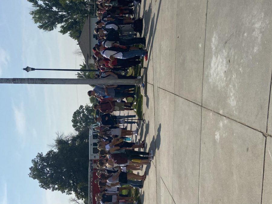 Students and staff commemorate 9/11