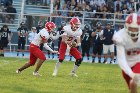 Reds football continues season undefeated