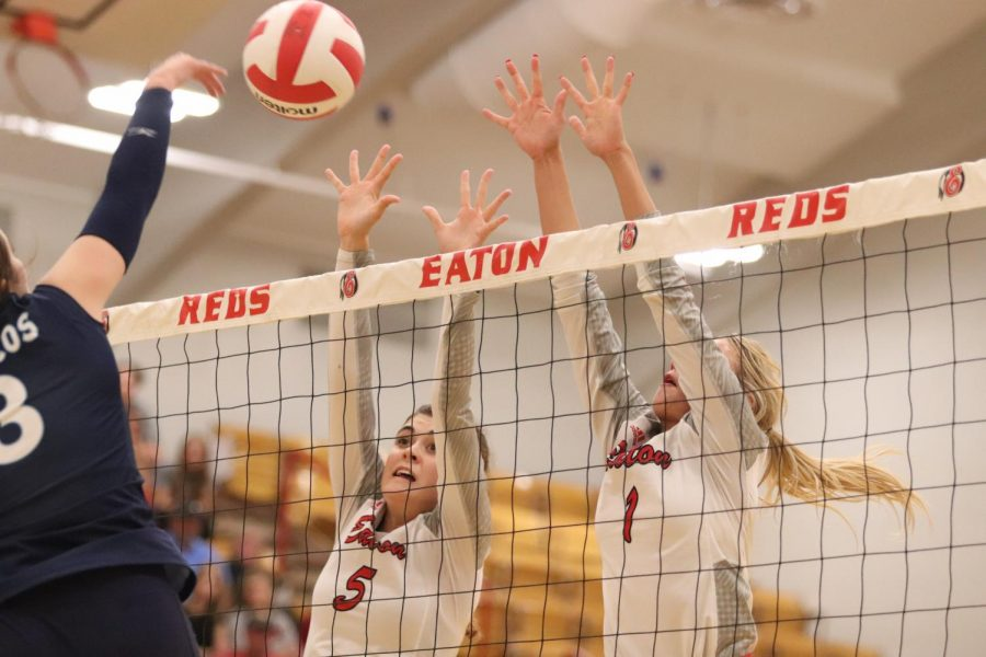 Reds Volleyball come up with win in a tight game