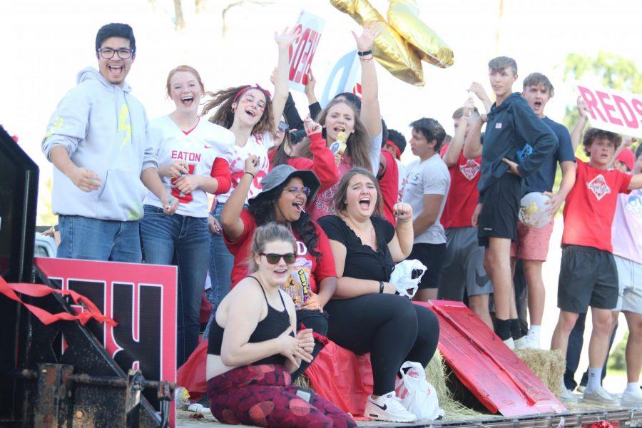 2021 Homecoming Parade photos
